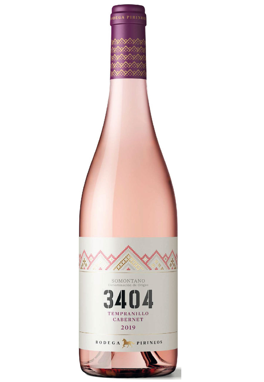 3404 rosado 2020 DO Somontano
